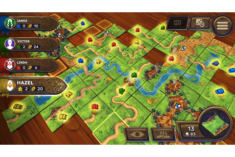 Asmodee Bringing Carcassonne, More Board Games To The ...