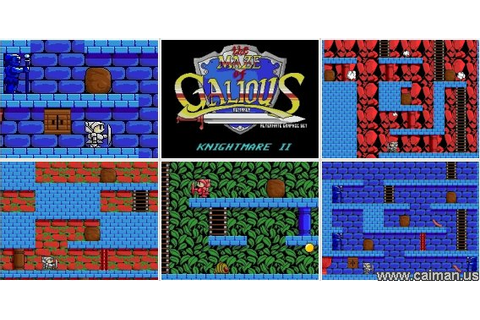 Caiman free games: Maze of Galious / Knightmare II by ...