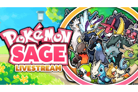 SICK FAKEMON!? Pokemon Sage Fan Game - Livestream - YouTube