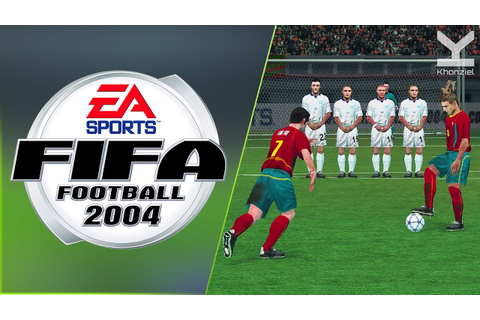 FIFA Football 2004 (2003) Gamecube - Portugal Vs Greece ...