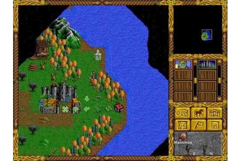 Heroes of Might and Magic 1 (1995) - YouTube