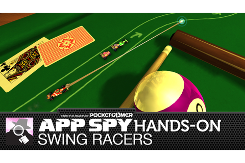 Swing Racers is a new iOS racer featuring some very micro ...