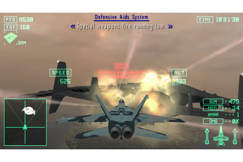 Ace Combat X: Skies of Deception - Mission 7B: Standoff in ...