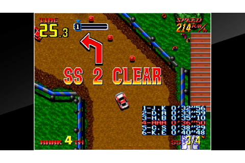 ACA NEOGEO THRASH RALLY on PS4 | Official PlayStation™Store US