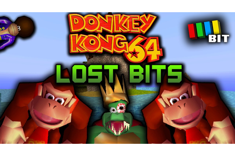 Donkey Kong 64 LOST LEVELS, DK 64 Test Room ...