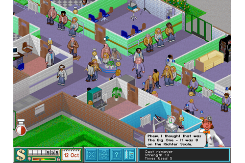Theme Hospital Origin Review | Games That I Play