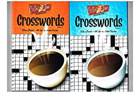 Amazon.com: Coffee Time Crosswords Puzzles Set of 3 ...