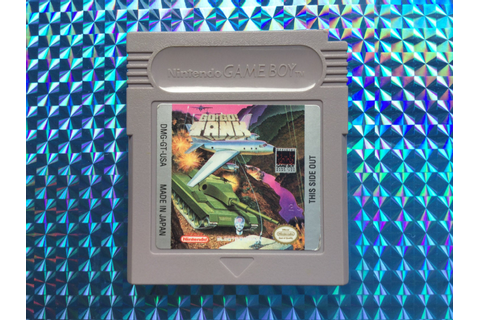 Go Go Tank 1991 Nintendo Game Boy Vintage Retro Rare Clean