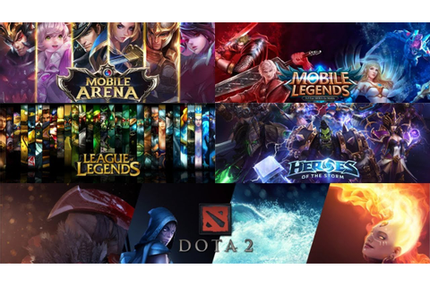 Sejarah Game MOBA (AoS, DotA, League of Legends, Vainglory ...
