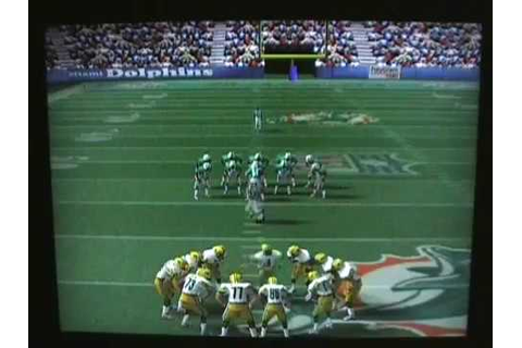 NFL Quarterback Club '98 (N64) Gameplay Review - YouTube
