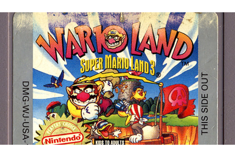 Classic Game Room - WARIO LAND Nintendo Game Boy review ...