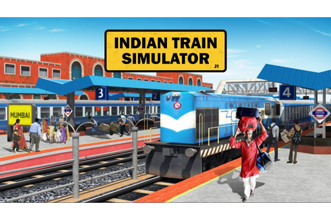 Indian Train Simulator - Train Games Official Trailer ...
