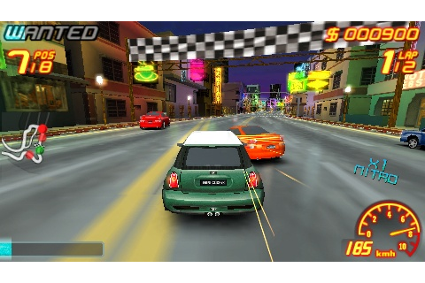 Media Portable: [PSP-GAME]Asphalt Urban GT 2 (U)