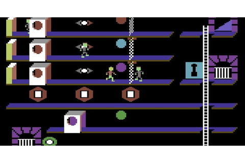 Indie Retro News: The Castles of Dr. Creep - A C64 game ...