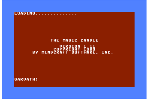 Download The Magic Candle: Volume 1 - My Abandonware