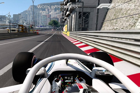 First gameplay clip from Codemasters' F1 2018 game ...