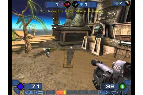 Unreal Tournament 2003 Gameplay Capture The Flag Facing ...