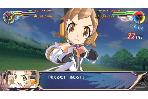 Super Heroine Chronicle — PS Vita game – catgirl reviews ...
