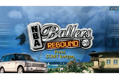 NBA Ballers Rebound for Sony PSP - The Video Games Museum
