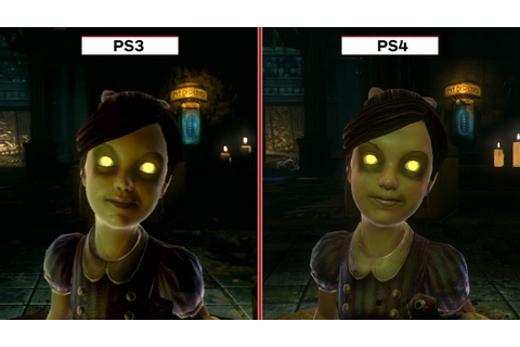 Bioshock: The Collection Graphics Comparison (PS3 vs. PS4 ...