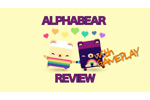 'Alphabear' Word Puzzle Game is Adorable Fun | ThatMomentIn