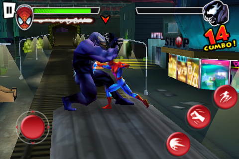 Ultimate Spider-Man: Total Mayhem IPA for iPhone and iPod ...