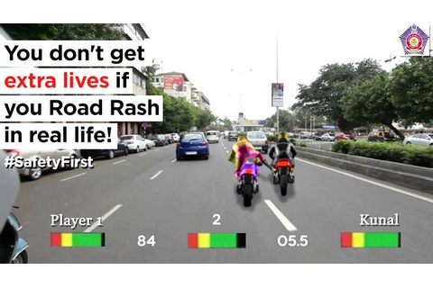 Mumbai Police is all game for Road Rash; but only to send ...