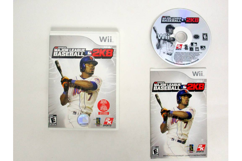 Major League Baseball 2K8 game for Nintendo Wii | The Game Guy