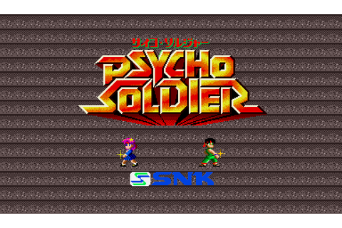 Psycho Soldier (1987) by SNK Arcade game