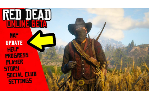 New Red Dead Online Update! New Game Mode, Clothes and ...