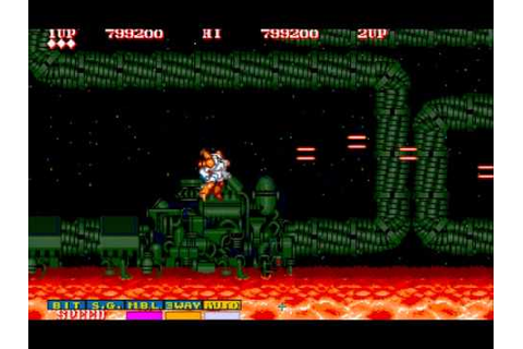 Side Arms - Hyper Dyne (Arcade Game Play) - YouTube