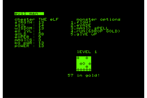 The CRPG Addict: Game 86: Dungeon of Death (1979)