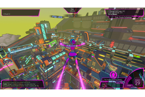 Futuristic parkour game Hover hits consoles today | The ...