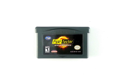 Fear Factor Unleashed game for GameBoy Advance (Loose ...