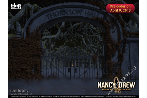 Nancy Drew: Ghost of Thornton Hall - Tai game | Download ...