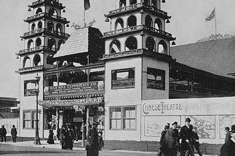 The Chinese Theatre - World's Fair Chicago 1893 - Midway ...