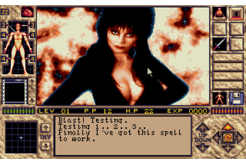 Elvira 2: The Jaws of Cerberus adventure for DOS (1991 ...