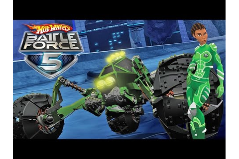 #4 Hot Wheels Battle Force 5 - Video Game - Gameplay ...