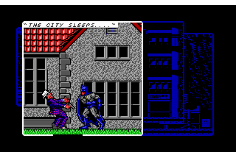 Batman: The Caped Crusader (1990) by Special FX MS-DOS game