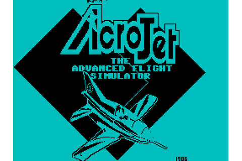 AcroJet: The Advanced Flight Simulator screenshots for ZX ...