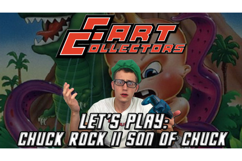Cart Collectors - Let's Play: Chuck Rock II Son of Chuck ...