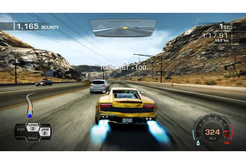 Need For Speed: Hot Pursuit Gameplay PC Turbo Nitro - YouTube