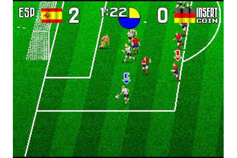 Arcade Longplay [396] Tecmo World Soccer '96 - YouTube