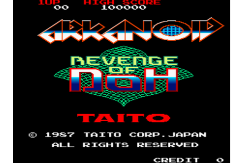 Arkanoid - Revenge of DOH (World) ROM Download