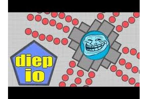 Diep.io Max Level Gameplay - One Shot Gun! (Diep.io Funny ...