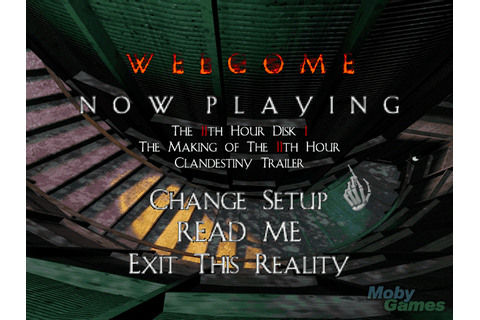Download The 11th Hour - My Abandonware