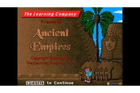 Super Solvers: Ancient Empires gameplay (PC Game, 1990 ...
