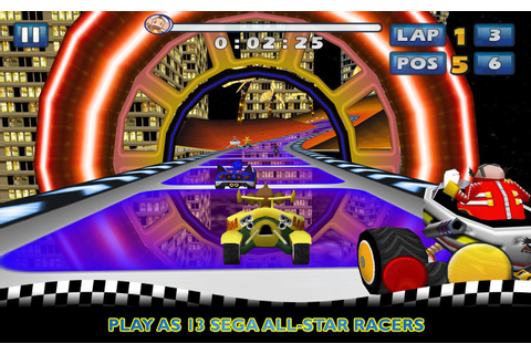 Sonic & SEGA All-Stars Racing - Android Apps on Google Play