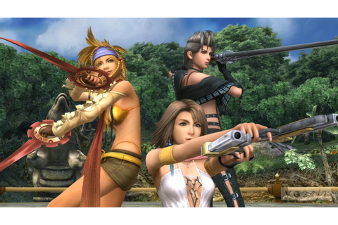 New screenshots show off Final Fantasy X-2's HD upgrade ...