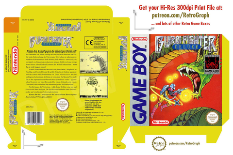 [GAMEBOY] Burai Fighter Deluxe Box Art (PAL) by ...